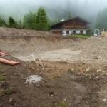 Bautag 4 - 9.6. - Aushub für Bodenplatte