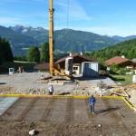 Bautag 8 - 15.6. - Eisen für Bodenplatte