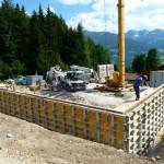 Bautag 9 - 18.6. - Schalung für Betonwände UG aufstellen