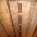 Bautag 36  - 10.8. - Lehmsteine über Deckenschalung eingelegt