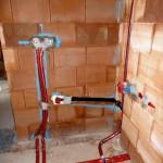 Bautag 40  - 15.8. - Wasserinstallationen