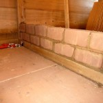 Bautag 43 - 21.8. - Aufmauern Innenwand mit Lehmziegel