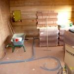 Bautag 49 - 29.8. - 1. Elektroverrohrung Deckenbeleuchtung UG