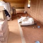 Bautag 53 - 01.9. - Verlegen Lehmsteine als Masseträger und gegen Trittschall