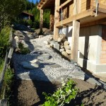 Bautag 59 - 08.9. - Anlegen Außenanlage und Garten in 4 Tagen