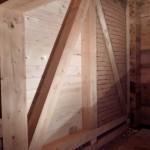 Bautag 86 - 12.10. - Ausmauern Fachwerk Garage