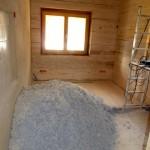 Bautag 100 - 02.11. - Cellulosewolle aufgeflockt