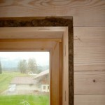 Bautag 114 - 16.11. - Fensterlaibung ausgestopft mit Flachs