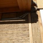 Bautag 114 - 16.11. - Isolierung Aussenziegelwand mit Schilfrohr
