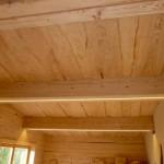 Bautag 116 - 19.11. - Decke OG mit unregelmäßigen Brettern