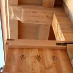 20.12. - Detail Balkon und Dachpfette