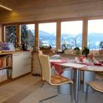 20.12. - Küchenfenster mit Blick ins Ennstal